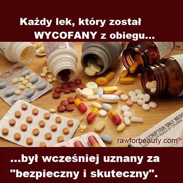 Bezpieczne leki i ich wycofywanie.
