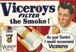 Viceroy Dentysta reklama