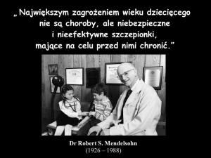 Dr Robert Mendelsohn